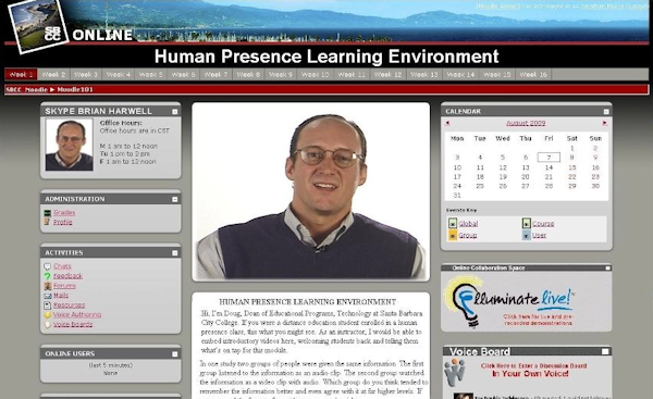 Human Presence Learning Environment Brings Human Element To Distance Education