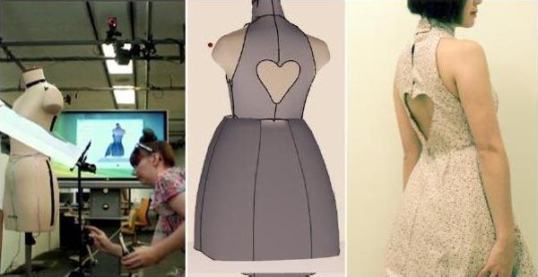 Virtual clothing designer online