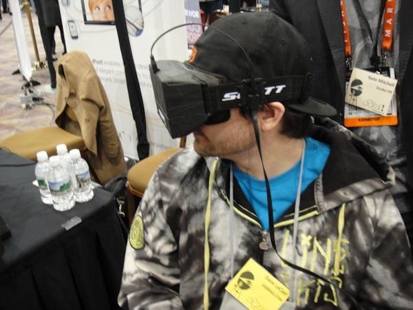 Oculus Rift at CES 2013