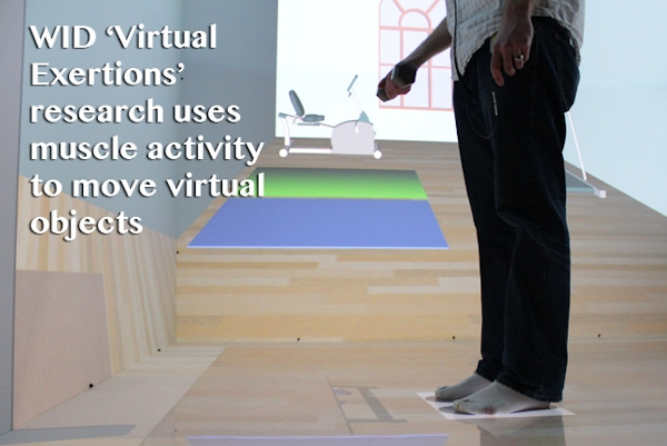 Virtual Exertions research