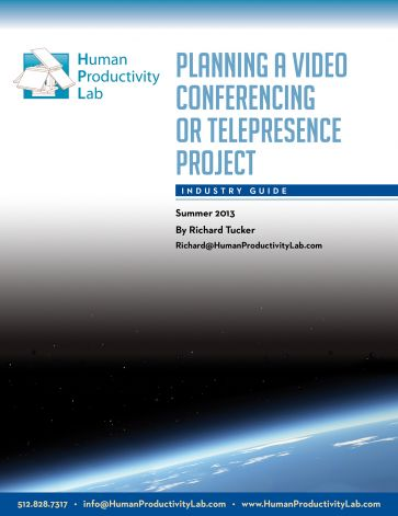 """""""Planning a Videoconferencing or Telepresence Project"""""""