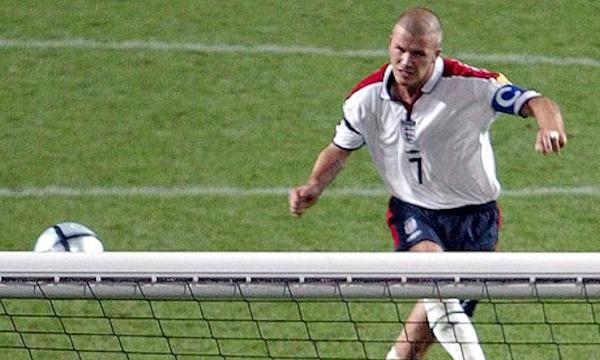 Davidn Beckham misses