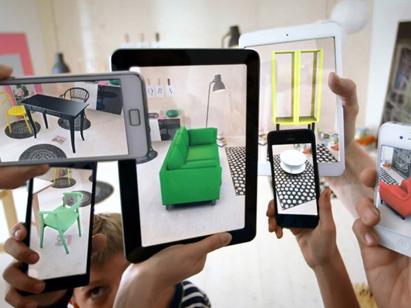 Ikea's 2014 catalog AR app