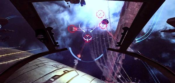 Eve Valkyrie in  Oculus Rift