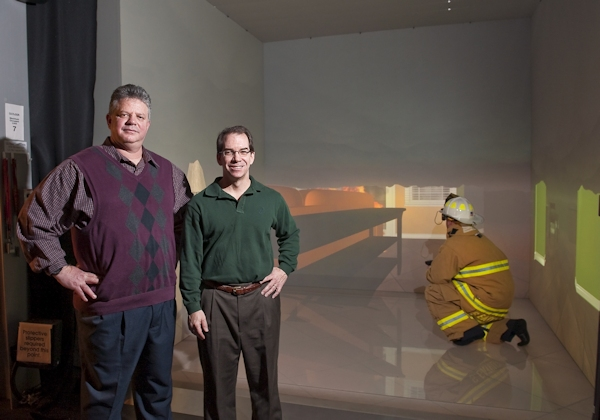Iowa State U. fire simulation