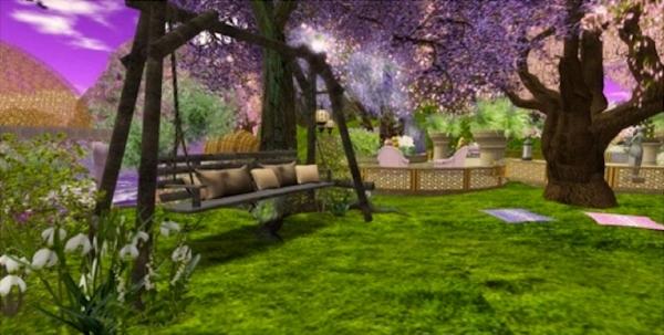 Second Life garden