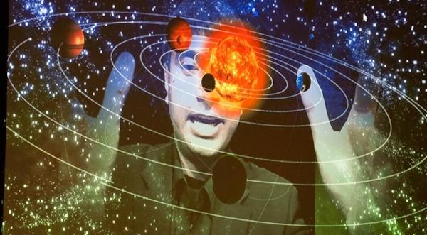 Perceptual computing graphic