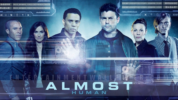 """""""Almost Human"""" graphic"""