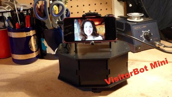 The RobotMetrix VisitorBot Mini