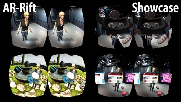 AR-Rift showcase images