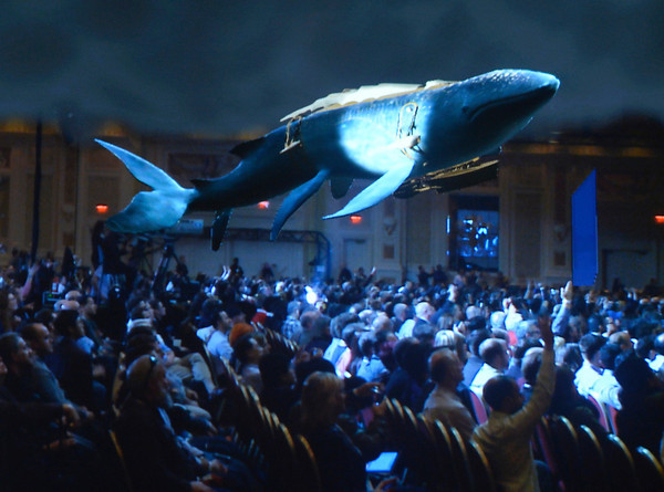 Audience experiences Leviathan at CES Keynote