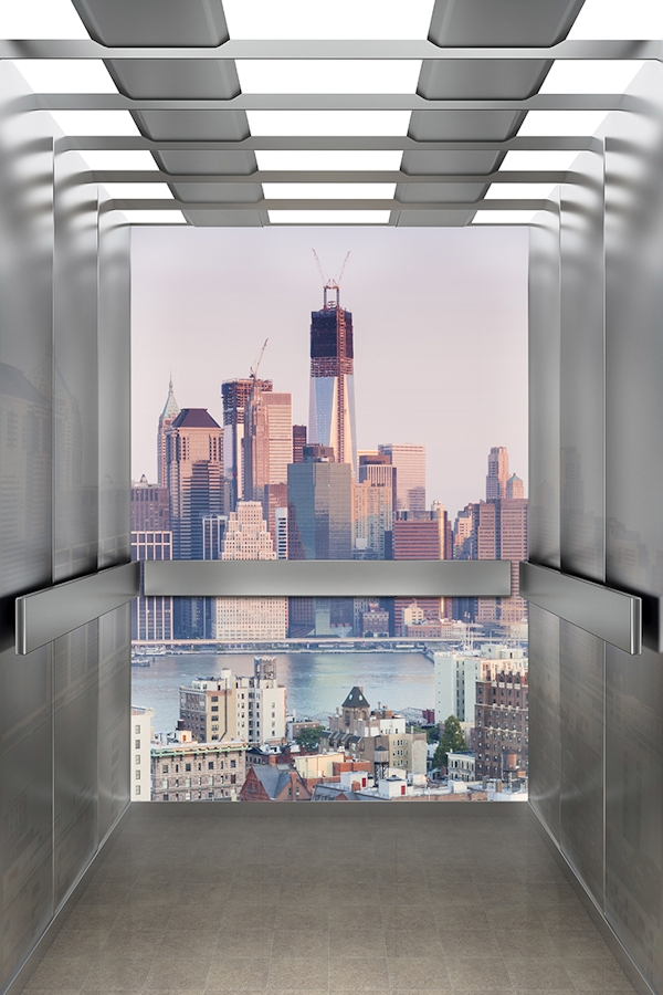 LIftEye view of elevator
