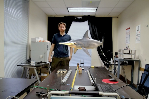 Magic Leap brings floating shark to office