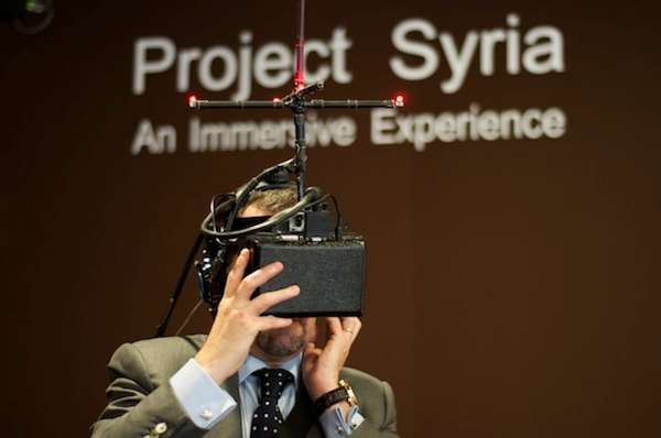 User experiencing Project Syria