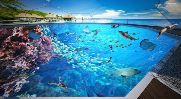 Swimarium concept art