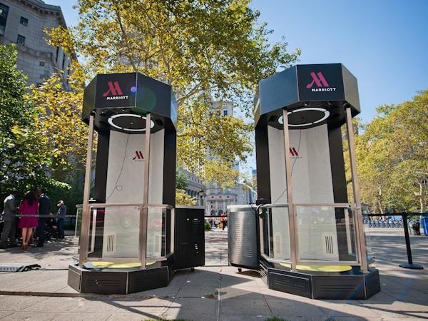 Marriott Teleporters in NYC