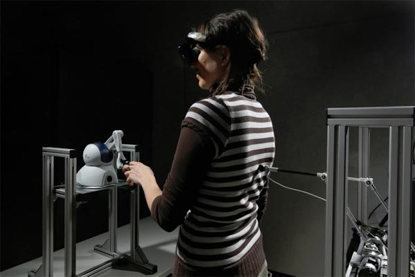 Robot creates Feeling Of A Presence