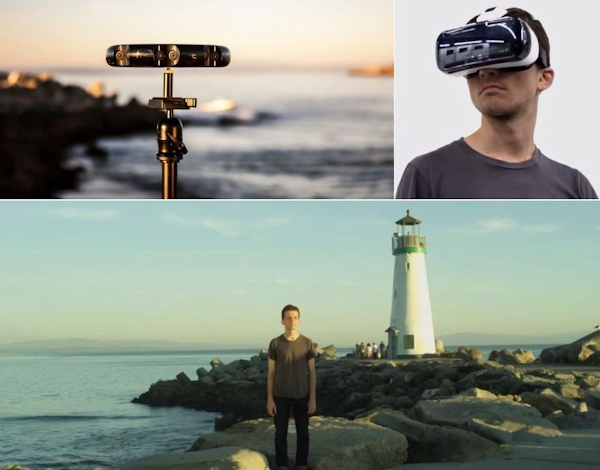 Samsung Project Beyond 'transporting' user to lighthouse scene