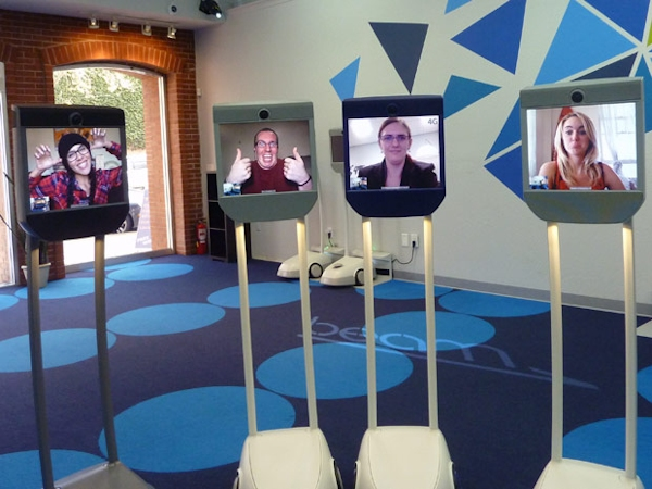 Beam Store manned by telepresence robots
