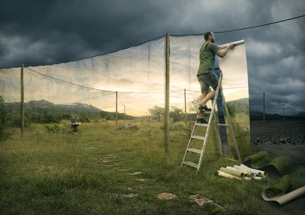 "Erik Johansson's ""The Cover up"""