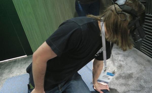 Oculus Rift 3D demo