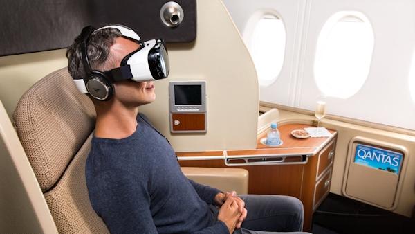 Samsung Gear on Qantas