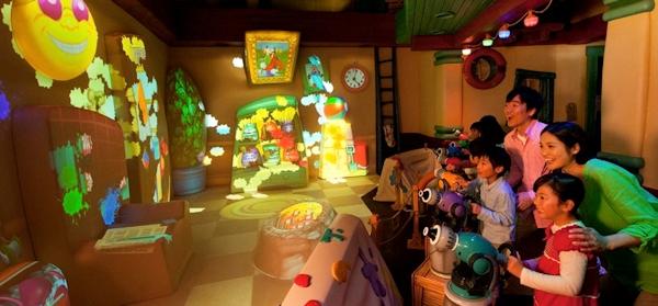 Goofy's Paint 'n Play at Disney Tokyo