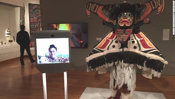 Kavita Krishnaswamy visits Seattle Art Museum via Beam