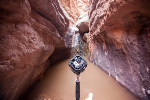 360 Labs'  using GoPro cameras to capture the Grand Canyon