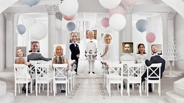 An IKEA virtual wedding