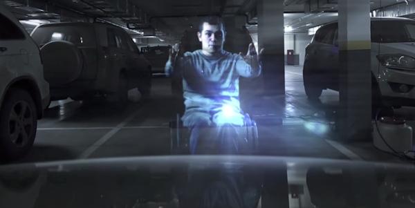 Dislife handicap parking hologram