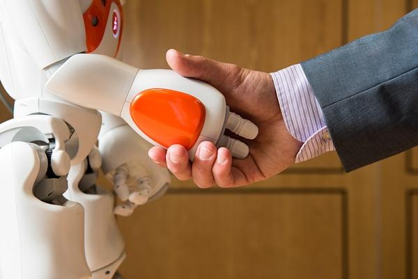 Human-Nao robot handshake
