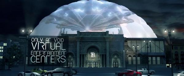VOID virtual entertainment center concept art