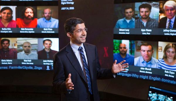 Bharat Anand in HBX Live! at Harvard