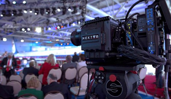 CNN event with NextVR camera