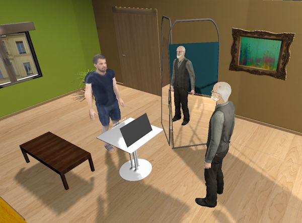 Virtual study participant and Freud