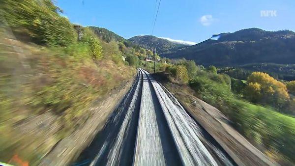 Bergen to Oslo NRK screenshot