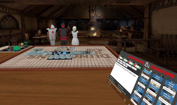 Dungeons & Dragons in AltspaceVR