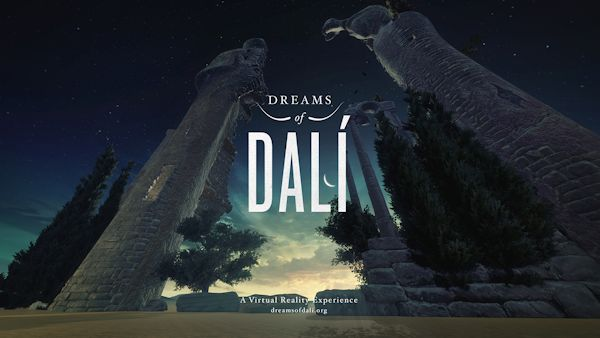Dali VR exhibition graphic