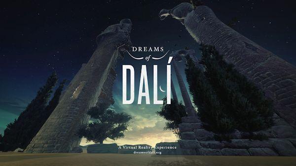 Dali VR exhibition graphic
