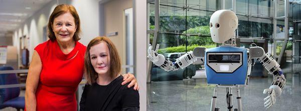 NTU social and telepresence robots Nadine and EDGAR