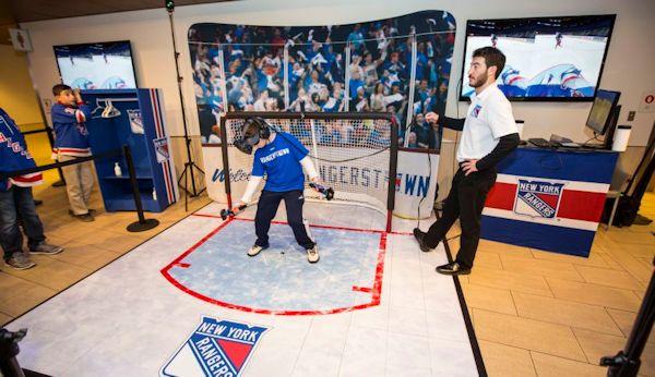 StriVR for the NY Rangers at Madison Square Garden