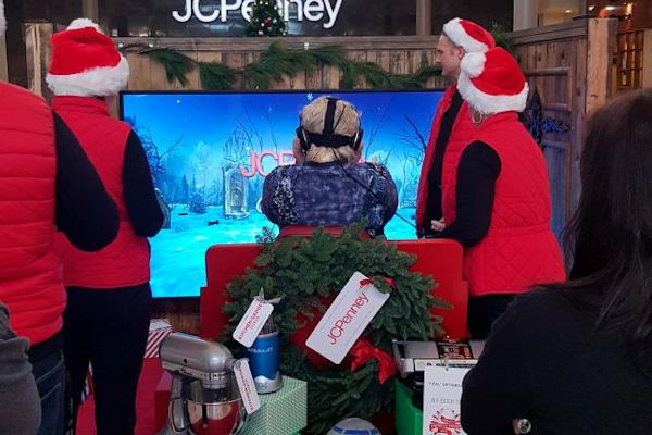 Twas The Flight Before Christmas JC Penney VR