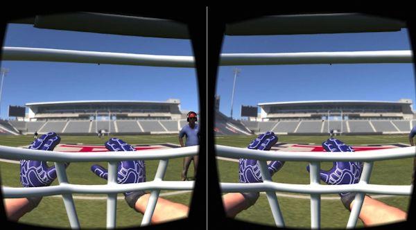BrainGainz concussion VR app screenshot