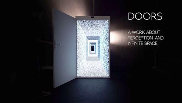Doors installation graphic
