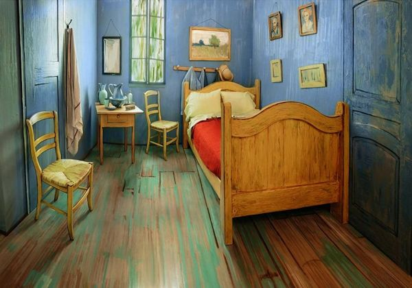 Van Gogh Bedroom by Art Institute of Chicago