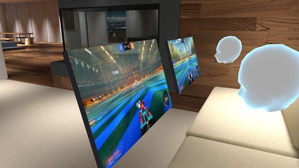 BigScreen shared virtual viewing