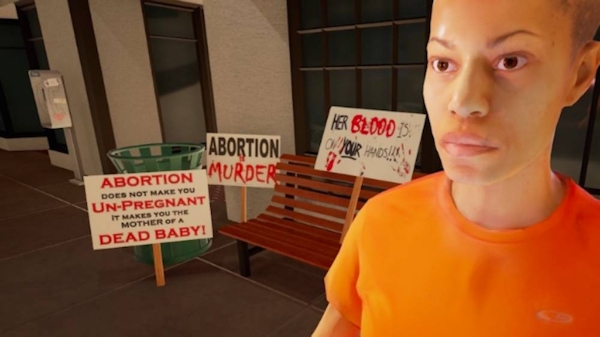Planned Parenthood's 'Across the Line' VR (screenshot)