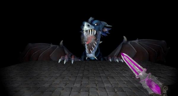 VR horror game Crystal Rift