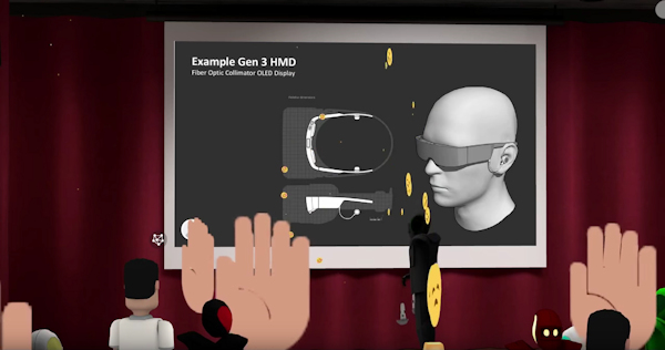 Magic Leap CTO Holz VR presentation (screenshot)